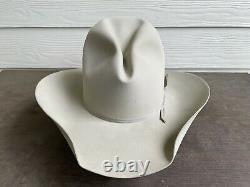 $1,323 Vintage Resistol 100X Natural Pure Beaver Felt Rodeo Cowboy Hat 7 Western