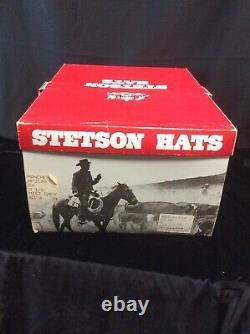 1970s Stetson 5X Rancher Beaver Sz 6 3/4 Mist Gray