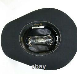 20x Resistol Black Gold 7 3/4 Beaver Cowboy Hat