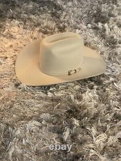 30X Stetson El Patron Silverbelly Beaver Fur Felt Western Cowboy Hat