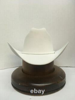 30x Stetson Hat Beaver Fur-el Patron- White