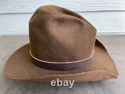 3X Resistol Vintage Antique Rugged Old West Cowboy Hat 7 1/8 SASS Texas 57cm Gus