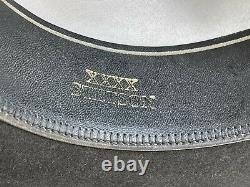 4X Stetson Antique Vintage Beaver Felt Old West Cowboy Hat 7 1/4 Clint Eastwood