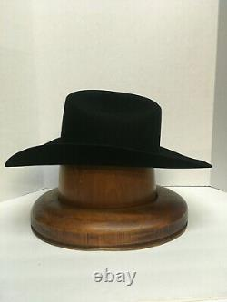 50X STETSON HAT BEAVER FUR-El Campeon BLACK-NEW WithTag+FREE-SHIPPING USA