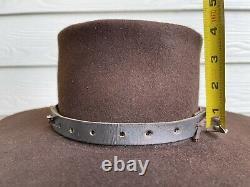 5X Custom Antique Vintage Beaver Felt Old West Cowboy Hat 6 7/8 Clint Eastwood