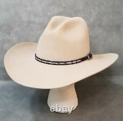 7 1/4 Terrific Stetson'gus' 4x Beaver Cowboy Hat Neutral