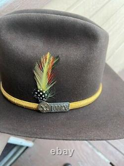 AMERICAN HAT COMPANY SIZE 6 7/8 MENS XXX Beaver Rancher VINTAGE Cowboy Western