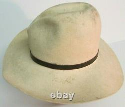 Augustus McCrae GUS TEXAS COWBOY HAT Size 7 1/4 Worn SASS MOVIE PROP HOUSE
