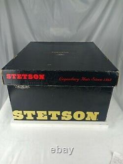 Authentic Stetson cowboy hat, Powder Horn