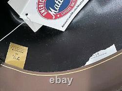 Bailey Gus Crown Beige Natural 8X Beaver Fur Felt Western Hat 7 1/4 58cm