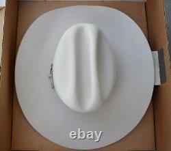 Bailey Sz 7 Cowboy Hat 8x BEAVER Original Box SILVERExcellent Condition
