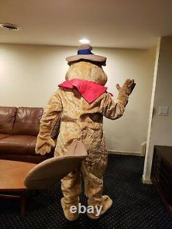 Beaver costume with cowboy hat-Marylen