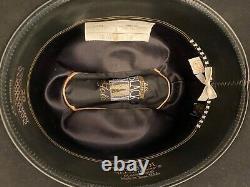 Black Gold Resistol 20x Beaver Cowboy Hat 7 1/8 long oval