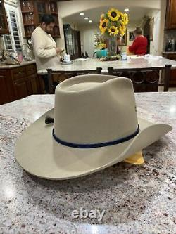 Charlie 1 Horse Cowboy Hat Natural Beaver Color Used. Rim About 3 As Is