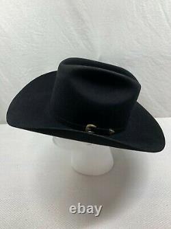 Charlie 1 One Horse Black Cowboy Hat Size 58 7 1/4 15x Beaver