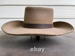 Clint Eastwood John Wayne Vintage Cowboy Hat 7 3/8 Western Cavalry Old Antique