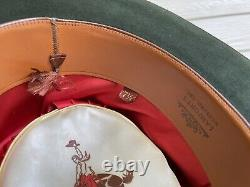 Custom Antique Vintage Beaver Felt Old West Cowboy Hat 7 1/4 Clint Eastwood 58cm