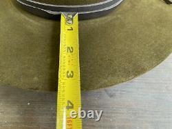 Custom Antique Vintage Beaver Felt Old West Cowboy Hat 7 1/8 Clint Eastwood 57cm