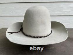 Custom Rugged Gus Vintage Antique Old West Cowboy Hat 7 1/4 Western Resistol