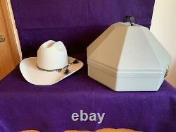 Gorgeous Resistol George Strait Cowboy Hat 7 ¾ XXXX Silver Belly Beaver