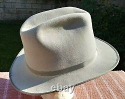 Jackson Hole Hat Company Cowboy 5X Beaver Silver Belly Open Road Western Style