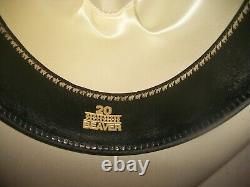New No Box Lucchese Silverbelly 20x Beaver Cowboy Hat Men Unisex 6-7/8 $300