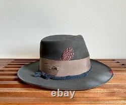 Nick Fouquet Custom Hat Size 7 3/8 Excellent Condition