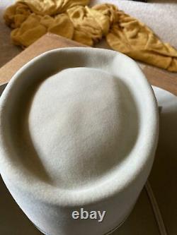 Older Stetson M Grey Remo 5x Beaver Felt Cowboy Western Hat 7 3/8 Very Clean