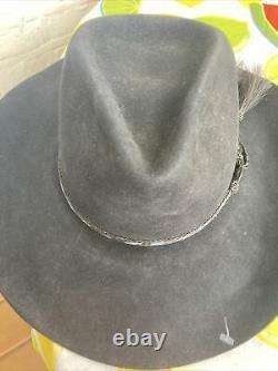 Rand's Custom Hatters Billings My Custom Made 8x Beaver Cowboy Felt Hat 21