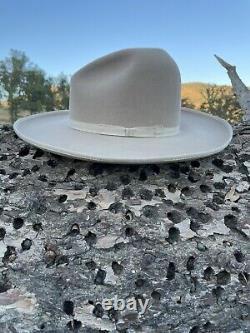 Rands custom 8X Beaver western Gus cowboy hat size 7 3/8