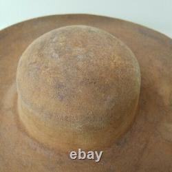 Rare Boss Plains Animal Fiber Handmade Stetson-Style Cowboy / Native Indian HAT