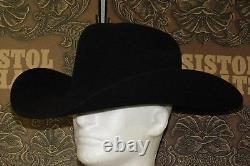 Resistol 20x Beaver Felt Black Gold Cowboy Western Hat