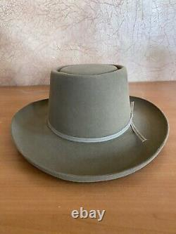 Resistol 4X Beaver Tan Canyon The Dealer Cowboy Felt Hat 6 7/8