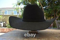 Resistol Challenger Fur Felt Hat 7 1/4 Long Oval