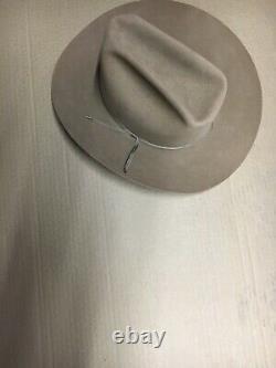 Resistol Cowboy Hat 7 1/4 XXX beaver canyon 3 1/2 brim w32 LALOO