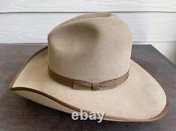 Resistol John Wayne Vintage Cowboy Hat 7 1/8 Texas Western Rancher Rodeo Antique