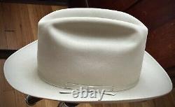 Resistol / Stetson Western Hat 7x Beaver 7-3/8