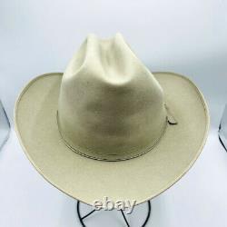 Resistol XXX Beaver Self Conforming Long Oval Western Cowboy Hat 7 1/4 Vintage
