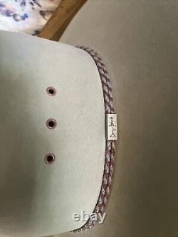 Resistol XXXX Beaver Self Conforming Western Cowboy Hat 7 1/4 Grey