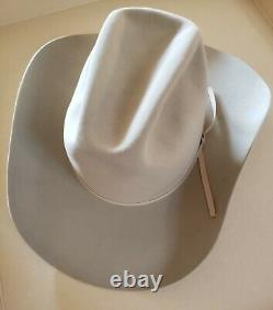 Resistol vintage Cowboy Hat 7-3/8 5x Beaver 1980's Palomino / Cutter Bill's