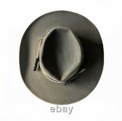 Resistol western hat 7 5/8 Genuine Fur Felt Johnny Depp Nick Fouquet Style