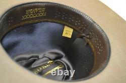 Rodeo King 7X BEAVER PECAN Felt SIZE 6 7/8 Cowboy Hat USA MADE $205