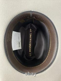 Rodeo King ALBOUM 7X Silver Belly Beaver Cowboy Hat Mens Size 7