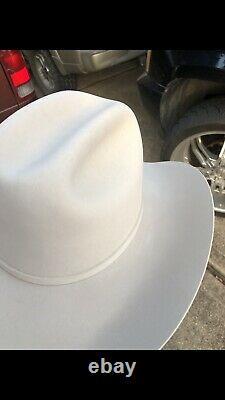 STETSON HAT 200X EL REY Size 7 1/2 BEAVER & CHINCHILLA