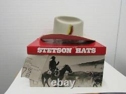 STETSON HATS, Men's Rancher 3-1/2 Brim S Belly 4X Western Felt Hat Size 7-5/8