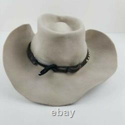 STETSON Kemo Sabe Aspen Men's 4X Beaver Tan Vintage Western Siz 7 5/8 Cowboy Hat