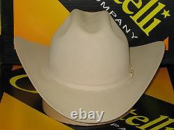 Serratelli 100x El Comandant Buckskin 4 Brim Western Cowboy Hat All Sizes