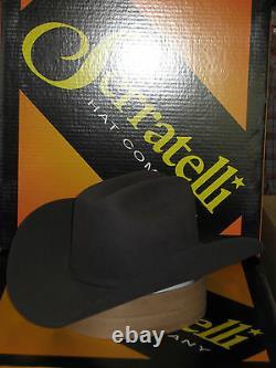 Serratelli 6x Amapola Granite 4 Brim Western Cowboy Hat All Sizes