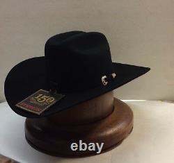 Stetson 200X La Corona Black Felt Hat With Free Hat Brush