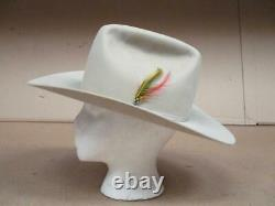Stetson 4X Cowboy Hat Beaver Western 7 with Liner Xlnt
